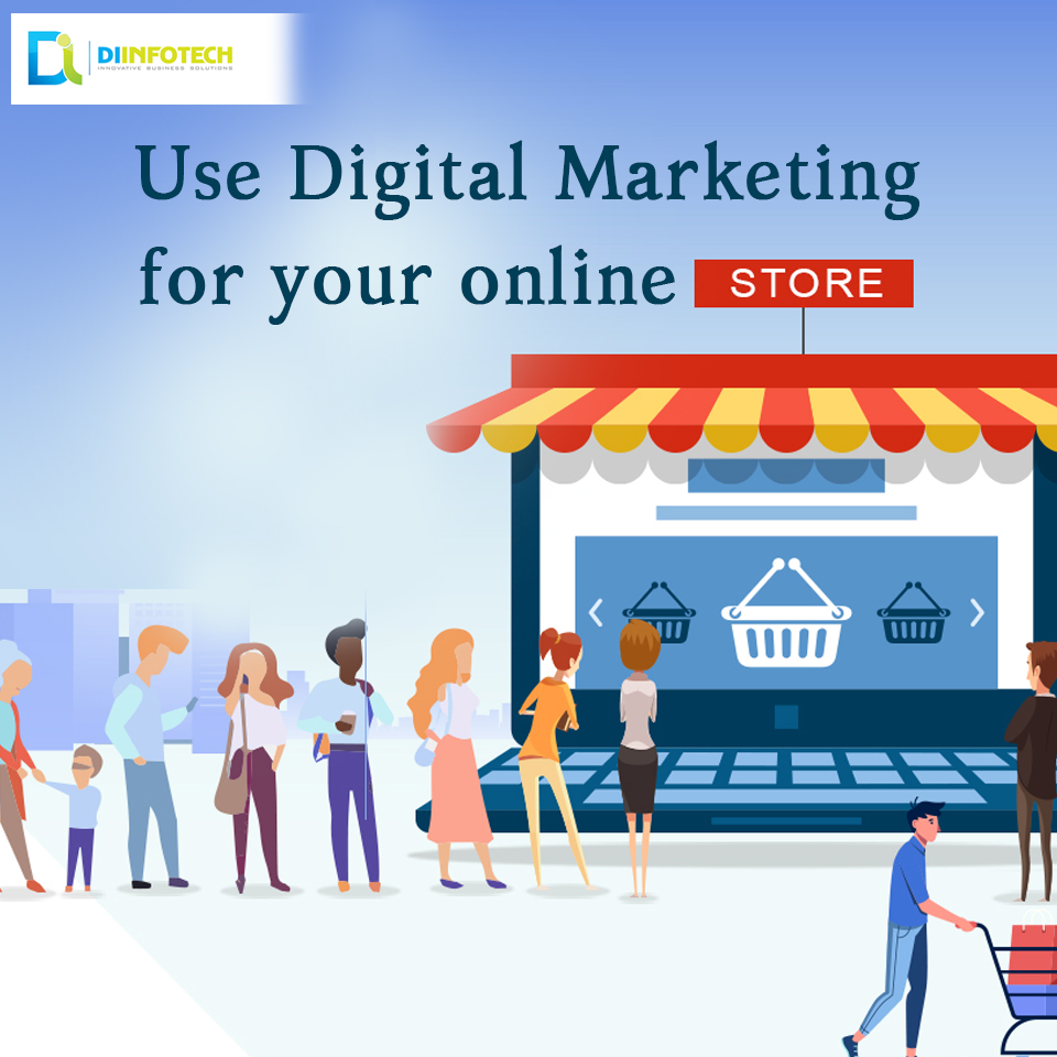 digital marketing online stores